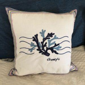 Kim Seybert Amalfi Coast Embroidered Pillow